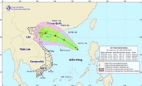 Chủ động ứng phó với áp thấp nhiệt đới trên biển Đông - Ảnh 1