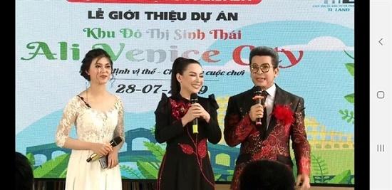"""Phi Nhung, Đan Trường, MC Thanh Bạch xuất hiện trong lễ mở bán """"dự án ma"""" của Alibaba - Ảnh 2"""