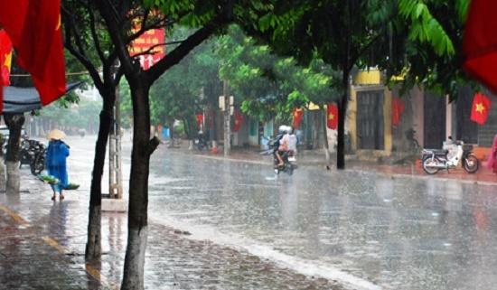 Chiều nay (9/7), Hà Nội đón mưa vàng giải nhiệt sau nhiều ngày nắng nóng - Ảnh 1