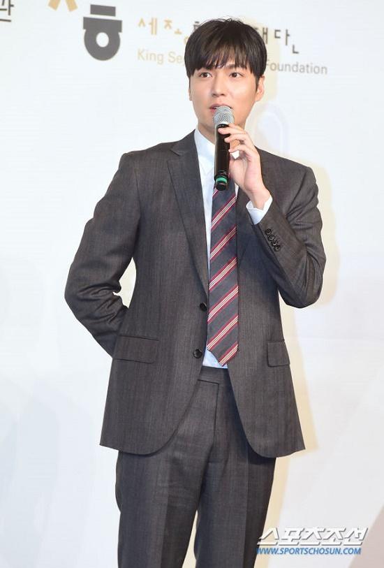 Mỹ nam Hàn Quốc Lee Min Ho đẹp 'gây thương nhớ' trong sự kiện mới - Ảnh 5