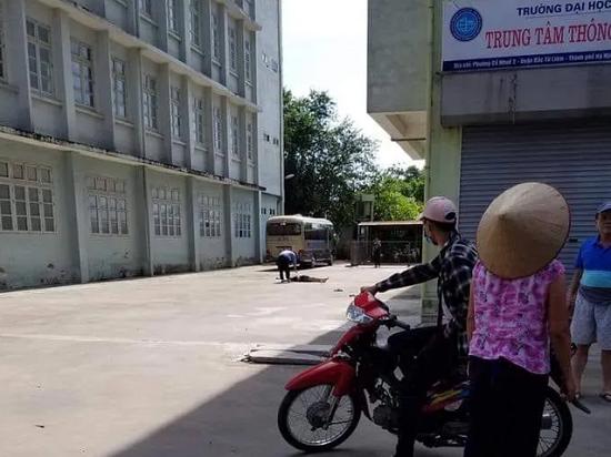 Hà Nội: Nam sinh tử vong vì rơi từ tầng 9 ký túc xá Đại học Mỏ - Ảnh 1