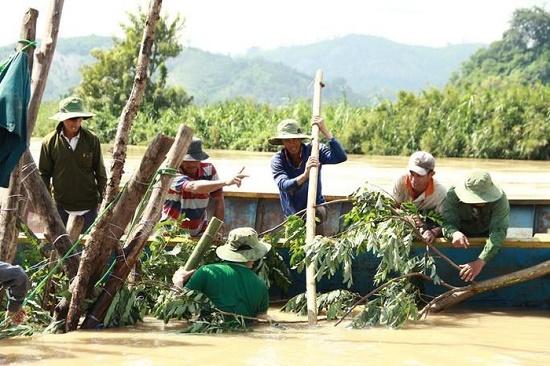 Hàng trăm người dân vật lộn cứu lúa tại Đắk Lắk - Ảnh 2