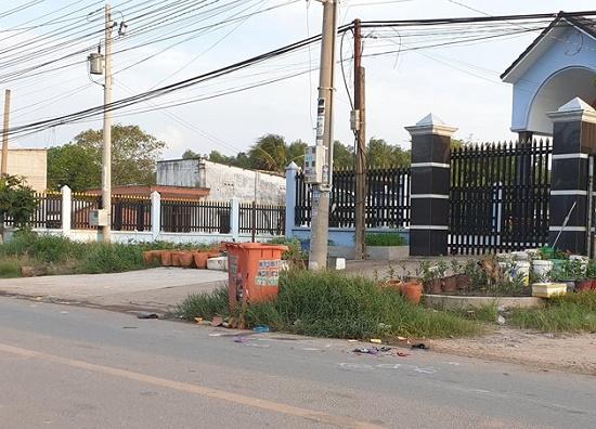 Xót xa bé gái 13 tuổi bị xe container cán tử vong tại chỗ - Ảnh 1