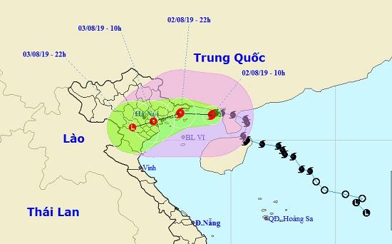 Bão số 3 ảnh hưởng đảo Bạch Long Vĩ, gió giật mạnh cấp 7, giật cấp 8 - Ảnh 1