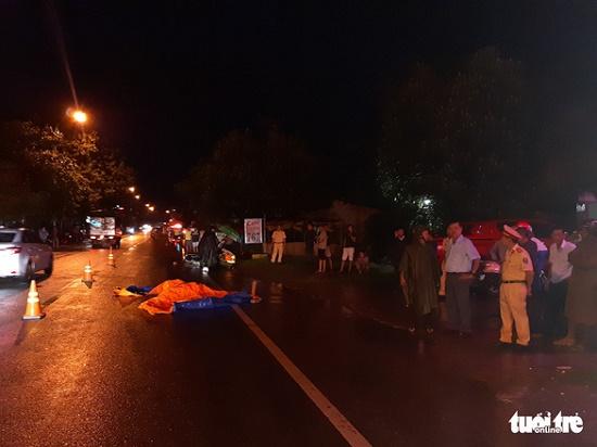 Đà Nẵng: Thượng úy CSGT bị đôi nam nữ phóng xe máy bỏ chạy tông chấn thương - Ảnh 2