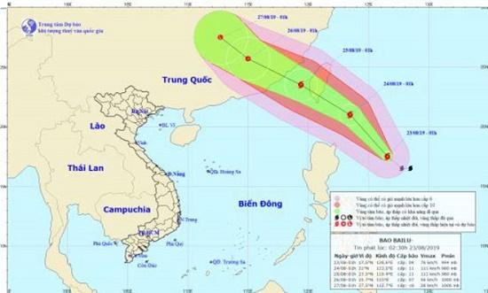 Xuất hiện bão Bailu giật cấp 11 gần biển Đông, Bắc Bộ mưa to - Ảnh 1