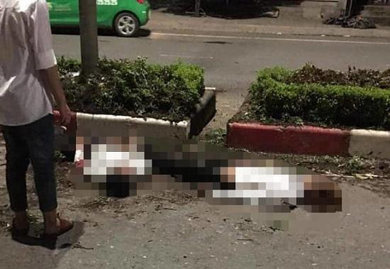 """Hé lộ nguyên nhân vụ xe máy """"kẹp"""" 5 tông vào dải phân cách khiến 4 người chết ở Thái Nguyên - Ảnh 1"""