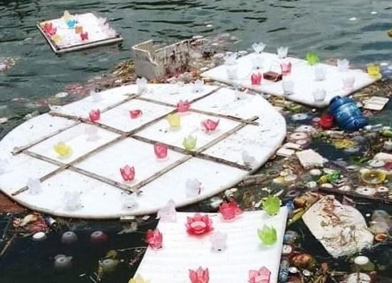 Lãnh đạo huyện Cát Bà nói gì về việc thả hơn 30.000 hoa đăng xuống vịnh Lan Hạ - Ảnh 2