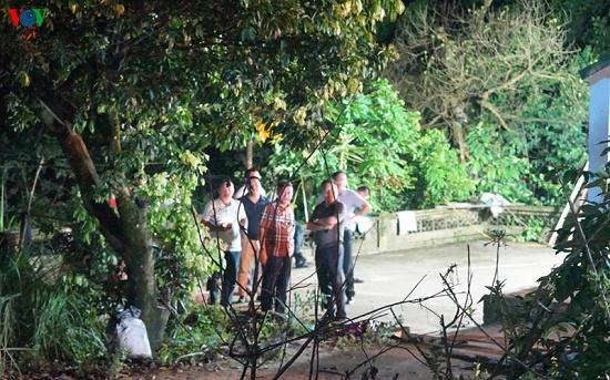 Hiện trường vụ nghịch tử dùng dao sát hại bố và anh vợ tại Quảng Ninh - Ảnh 2
