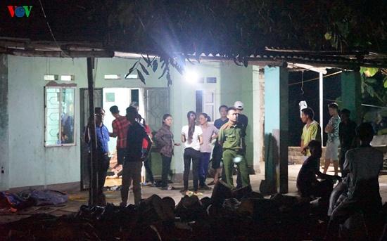 Hiện trường vụ nghịch tử dùng dao sát hại bố và anh vợ tại Quảng Ninh - Ảnh 3