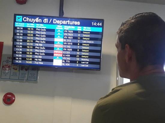 Sân bay Phú Quốc tạm dừng khai thác đến 1h ngày 10/8 - Ảnh 1