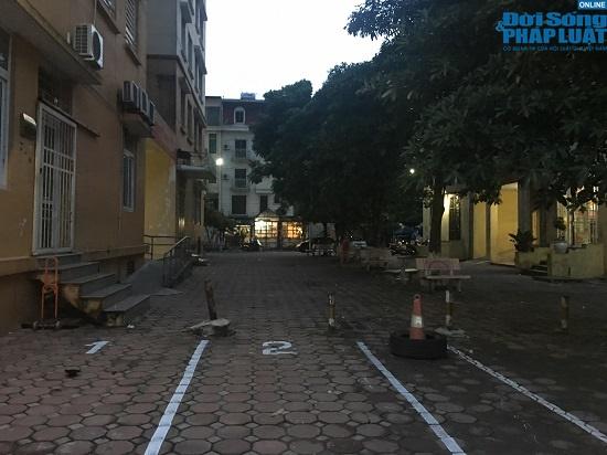 Hai tuần sau vụ cháy công ty Rạng Đông: Chung cư lác đác đèn, phố Hạ Đình đìu hiu khác lạ - Ảnh 7