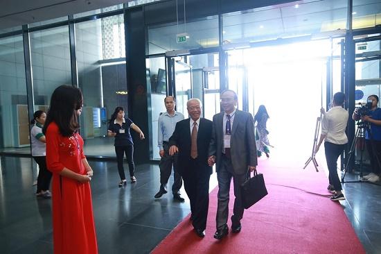 [Chùm ảnh] Các đại biểu tham dự Đại hội Đại biểu toàn quốc Hội Luật gia Việt Nam lần thứ XIII - Ảnh 1