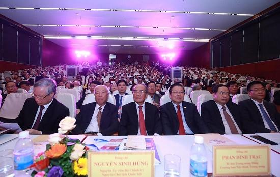 [Chùm ảnh] Các đại biểu tham dự Đại hội Đại biểu toàn quốc Hội Luật gia Việt Nam lần thứ XIII - Ảnh 16