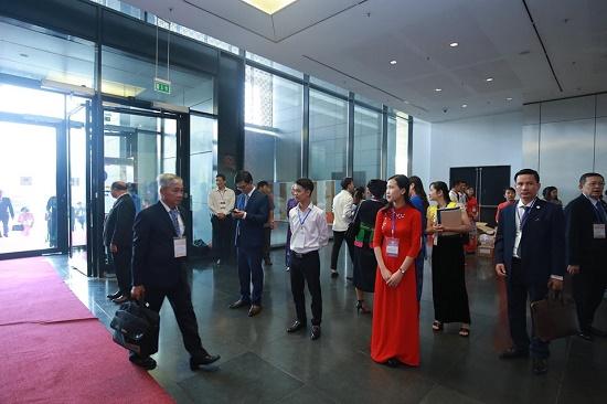 [Chùm ảnh] Các đại biểu tham dự Đại hội Đại biểu toàn quốc Hội Luật gia Việt Nam lần thứ XIII - Ảnh 3