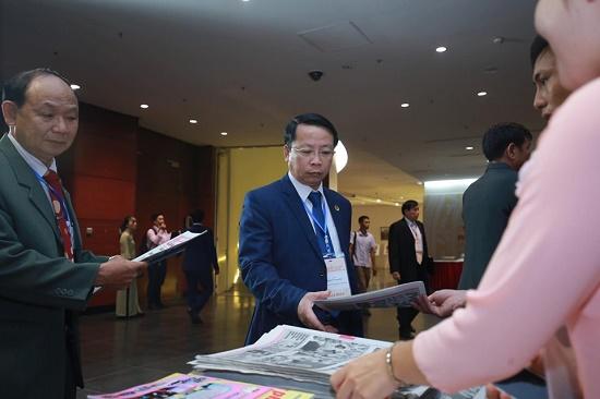 [Chùm ảnh] Các đại biểu tham dự Đại hội Đại biểu toàn quốc Hội Luật gia Việt Nam lần thứ XIII - Ảnh 9