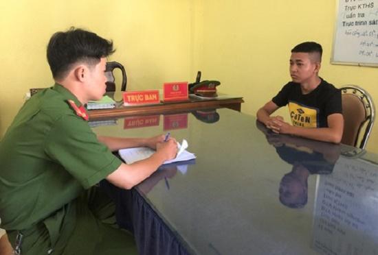 Bắt khẩn cấp đối tượng 17 tuổi chém hỏng xe dân phòng ở Đồng Nai - Ảnh 1