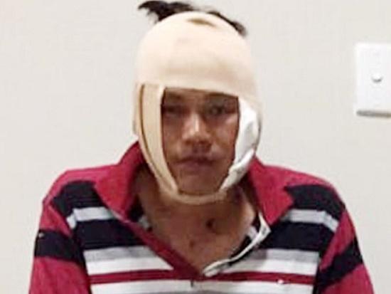 Hé lộ nguyên nhân Đại úy Công an bị đánh trọng thương tại quán nhậu - Ảnh 1