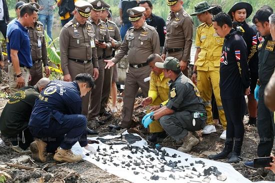 Kinh hoàng phát hiện 288 khúc xương được tìm thấy dưới ao gần nhà nghi phạm giết người - Ảnh 1
