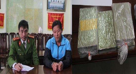 Hé lộ lời khai đối tượng vận chuyển 5 bánh heroin tại Nghệ An kiếm tiền tiêu Tết - Ảnh 1
