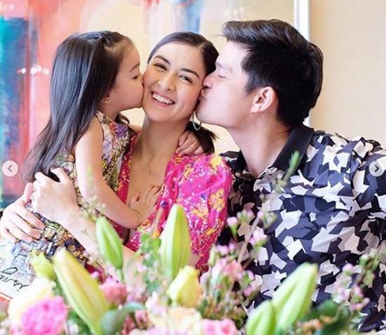 """Ngẩn ngơ vẻ đẹp tựa thiên thần của con gái """"mỹ nhân đẹp nhất Philippines"""" - Ảnh 1"""