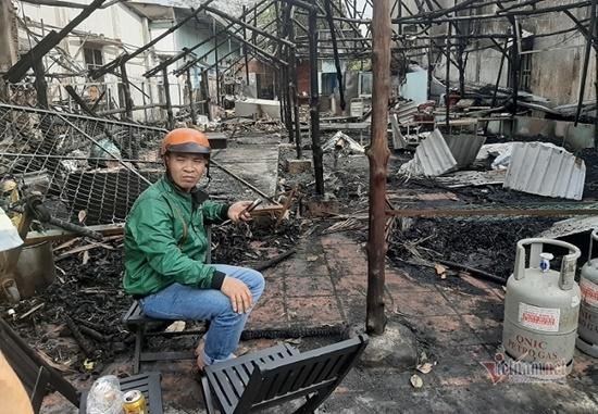Bình Dương: Bà hỏa thiêu rụi quán thịt chó lúc rạng sáng, cả gia đình thoát chết trong gang tấc - Ảnh 7