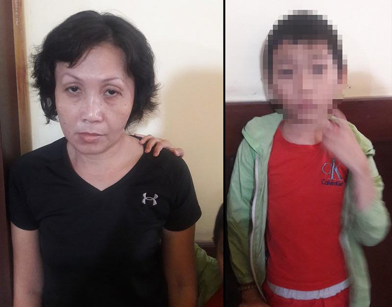 Vụ người phụ nữ xúi bé trai trộm túi tiền ở TP.HCM: Nghi phạm bị bắt khi đang cùng chồng dùng ma túy - Ảnh 1