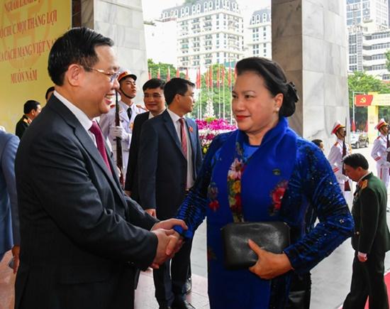 Chùm ảnh: Tổng Bí thư, Chủ tịch nước chỉ đạo Đại hội Đảng bộ Hà Nội - Ảnh 3