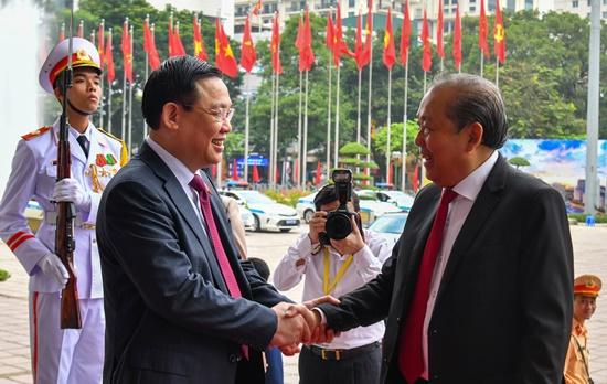 Chùm ảnh: Tổng Bí thư, Chủ tịch nước chỉ đạo Đại hội Đảng bộ Hà Nội - Ảnh 4