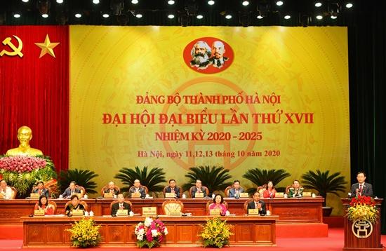 Chùm ảnh: Tổng Bí thư, Chủ tịch nước chỉ đạo Đại hội Đảng bộ Hà Nội - Ảnh 6