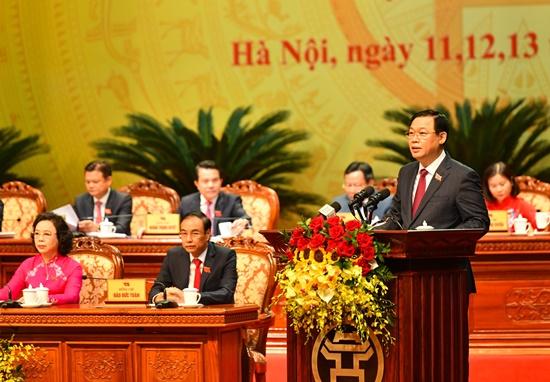 Chùm ảnh: Tổng Bí thư, Chủ tịch nước chỉ đạo Đại hội Đảng bộ Hà Nội - Ảnh 7