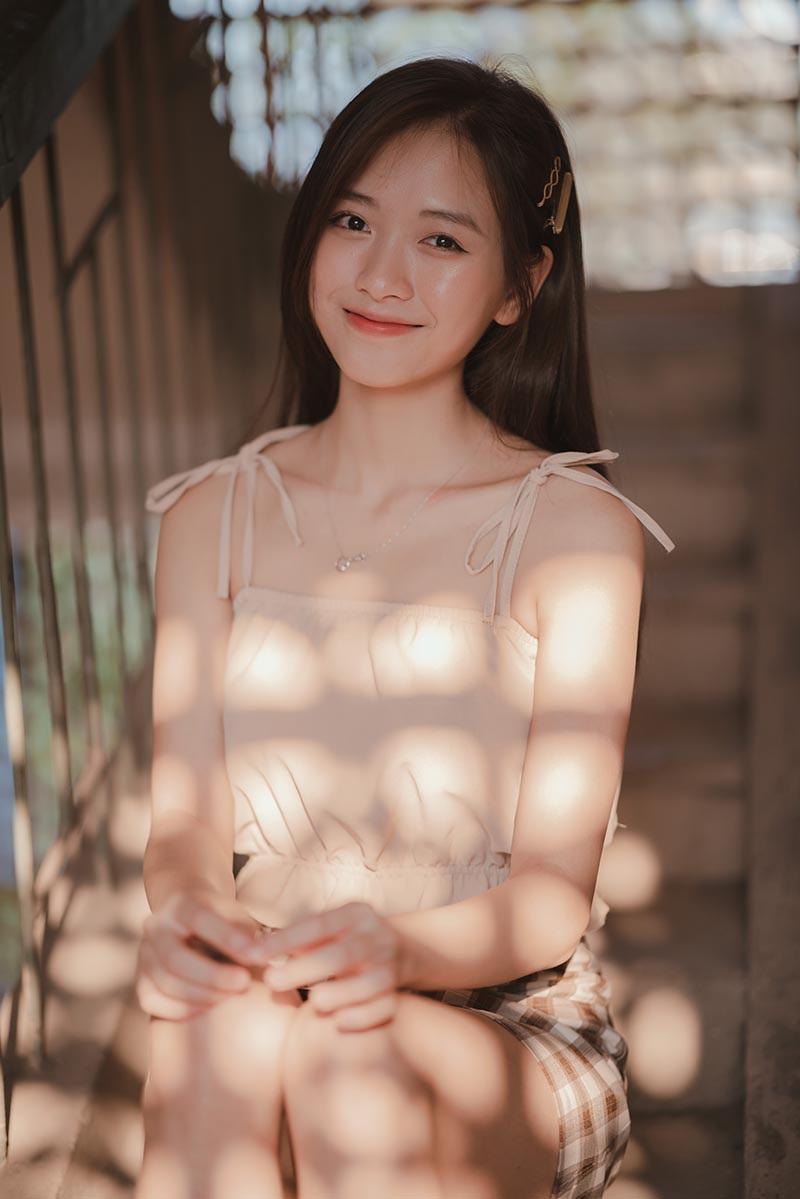 Nữ sinh Nam Định sở hữu nét đẹp đậm chất Á Đông, nụ cười tỏa nắng luôn thường trực trên môi - Ảnh 10