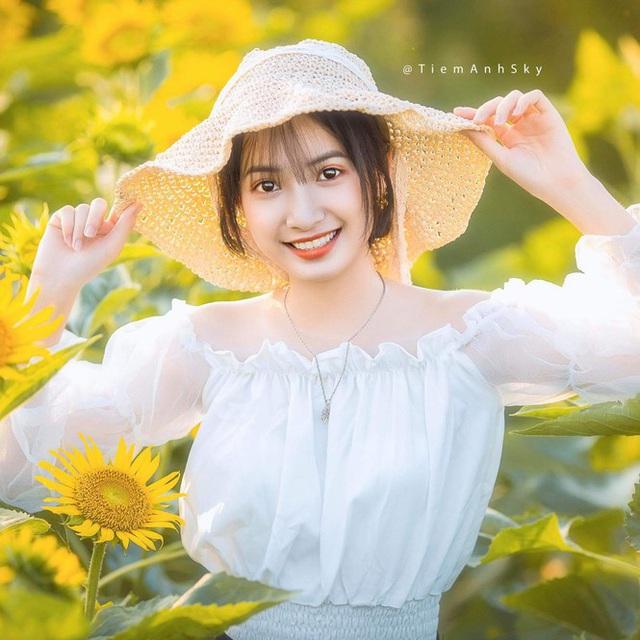 Nữ sinh Nam Định sở hữu nét đẹp đậm chất Á Đông, nụ cười tỏa nắng luôn thường trực trên môi - Ảnh 3