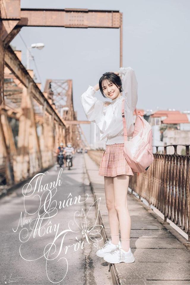 Nữ sinh Nam Định sở hữu nét đẹp đậm chất Á Đông, nụ cười tỏa nắng luôn thường trực trên môi - Ảnh 6