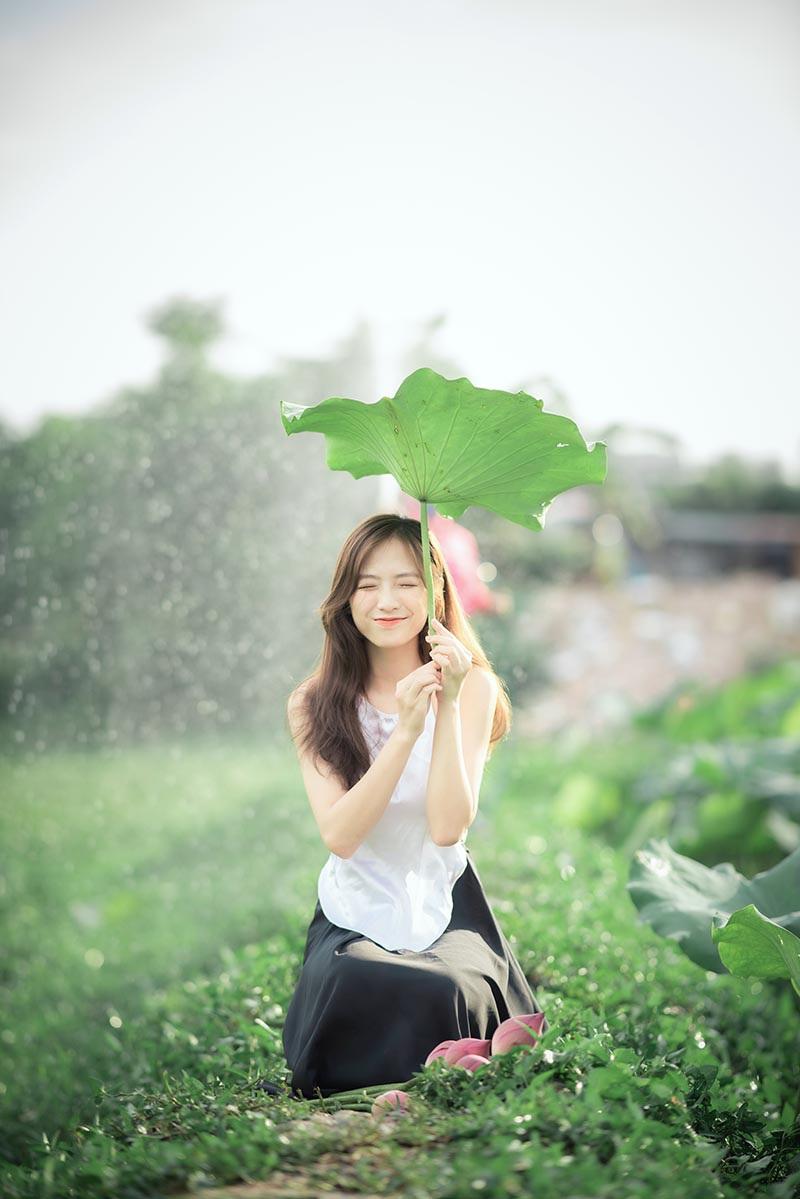 Nữ sinh Nam Định sở hữu nét đẹp đậm chất Á Đông, nụ cười tỏa nắng luôn thường trực trên môi - Ảnh 8