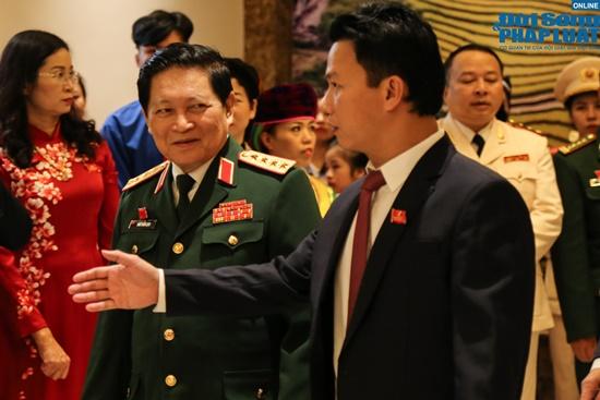 Đại tướng Ngô Xuân Lịch dự Đại hội Đảng bộ tỉnh Hà Giang lần thứ XVII - Ảnh 1