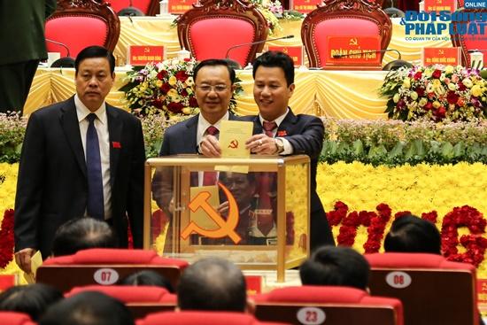 Đại tướng Ngô Xuân Lịch dự Đại hội Đảng bộ tỉnh Hà Giang lần thứ XVII - Ảnh 10