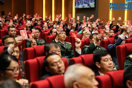 Đại tướng Ngô Xuân Lịch dự Đại hội Đảng bộ tỉnh Hà Giang lần thứ XVII - Ảnh 7
