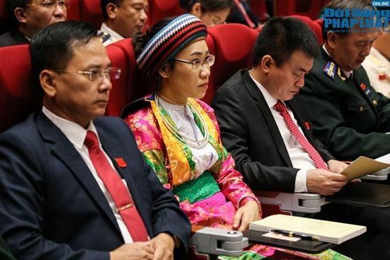 Đại tướng Ngô Xuân Lịch dự Đại hội Đảng bộ tỉnh Hà Giang lần thứ XVII - Ảnh 9