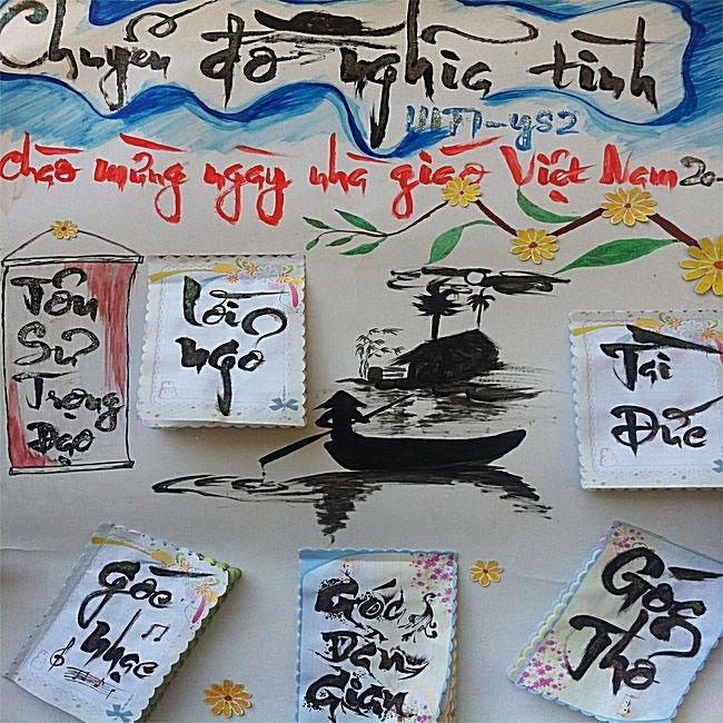 Những chủ đề báo tường hay và ý nghĩa nhất tri ân thầy cô ngày Nhà giáo Việt Nam 20/11 - Ảnh 1