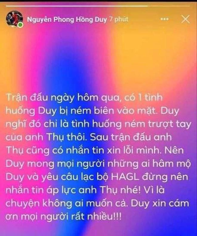 """Động thái bất ngờ của Duy Pinky sau khi bị cầu thủ """"hiền nhất Sài Gòn FC"""" ném bóng vào mặt - Ảnh 2"""