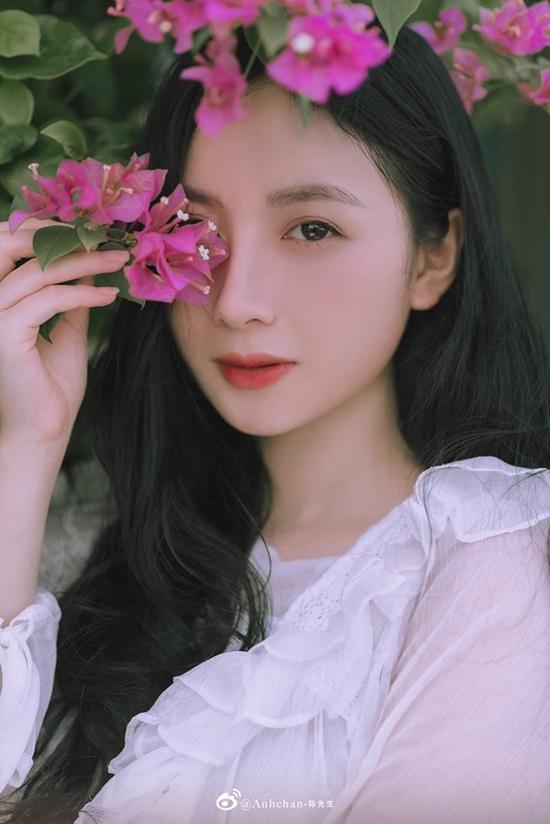 """Nữ sinh Tuyên Quang sở hữu nhan sắc """"đẹp như tượng tạc"""", góc nghiêng kiêu kỳ khiến bao chàng đắm say - Ảnh 4"""