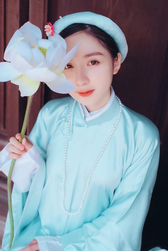 """Nữ sinh Tuyên Quang sở hữu nhan sắc """"đẹp như tượng tạc"""", góc nghiêng kiêu kỳ khiến bao chàng đắm say - Ảnh 6"""