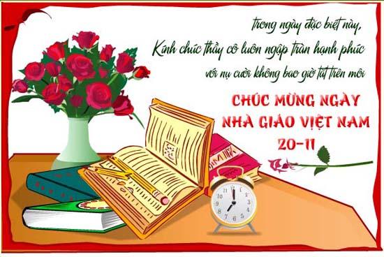 Những lời chúc hay và ý nghĩa gửi tới thầy cô nhân ngày Nhà giáo Việt Nam 20/11 - Ảnh 1