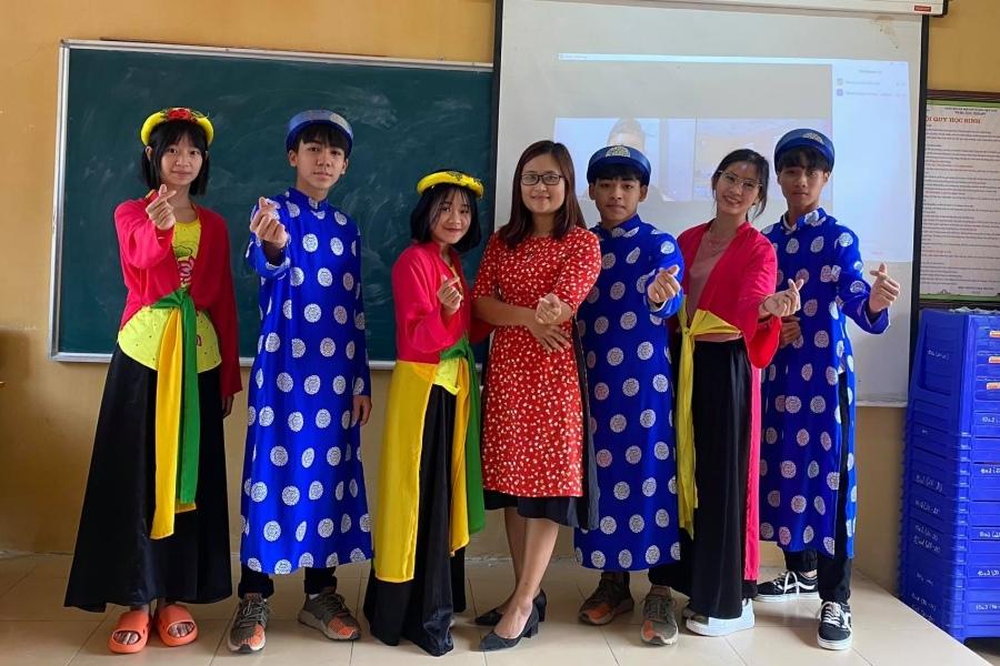 Lần đầu tiên Việt Nam có cô giáo lọt top 10 giáo viên xuất sắc nhất toàn cầu - Ảnh 3