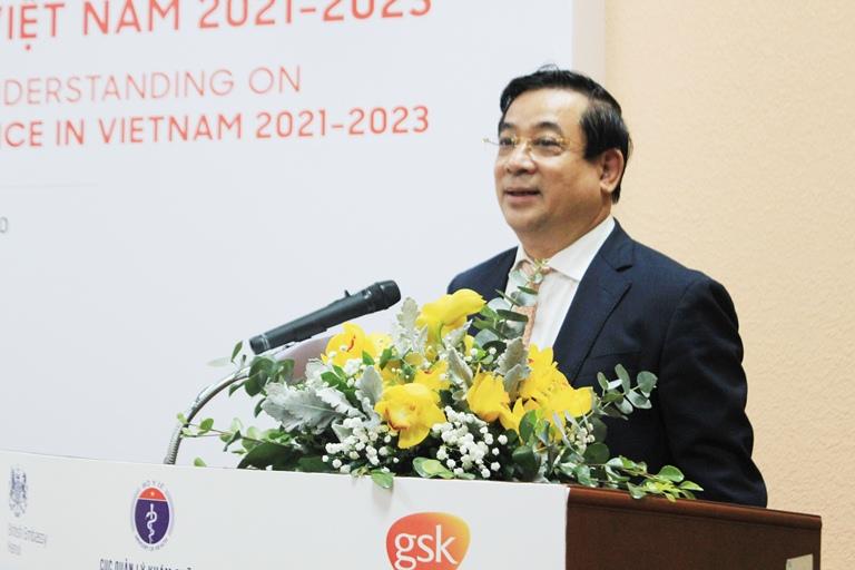Ký kết chương trình hợp tác phòng, chống kháng kháng sinh tại Việt Nam 2021 - 2023 - Ảnh 2