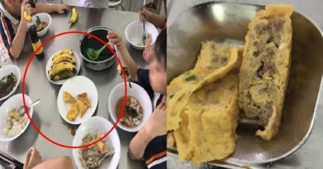 Vụ bữa ăn bán trú của học sinh chỉ có trứng và canh: Hiệu trưởng nói gì? - Ảnh 1