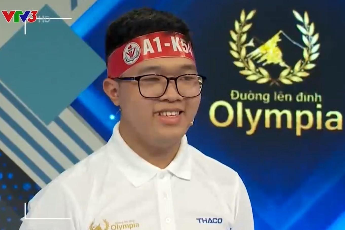 Nam sinh Hà Nội xác lập kỷ lục khó tin tại Đường lên đỉnh Olympia 2021 - Ảnh 2