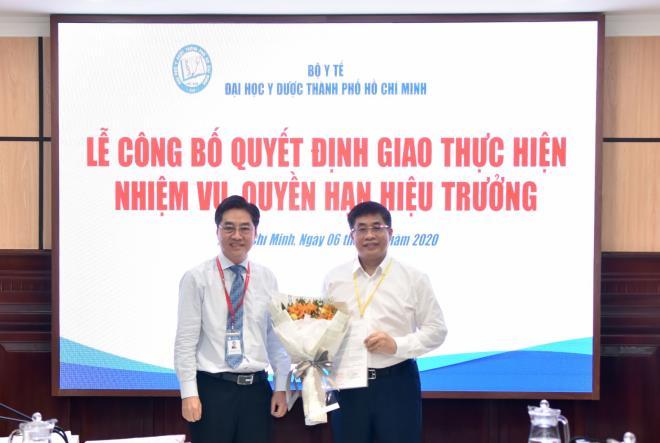 PGS.TS Nguyễn Hoàng Bắc được giao quyền Hiệu trưởng ĐH Y Dược TP.HCM - Ảnh 1