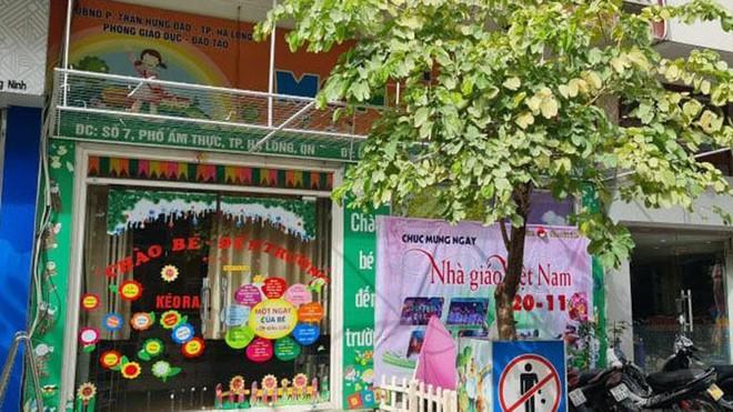 Phụ huynh viết đơn xin rút kinh nghiệm, sửa sai vì hiểu lầm cô giáo ở Quảng Ninh đánh học sinh  - Ảnh 1